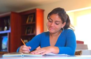 girl-studying-and-writing1