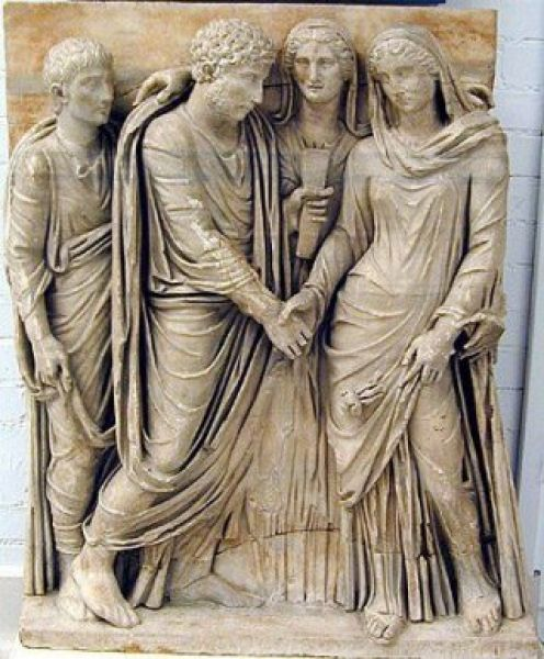 Ancient Roman Weddings ancient Roman Wedding betrothaljg