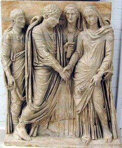 ancient Roman Wedding betrothal.jg